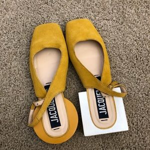 Rare! Jacquemus single suede leather shoes
